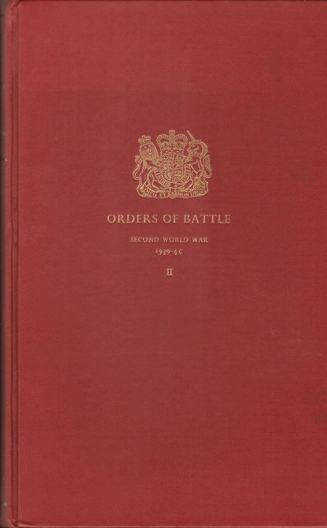 View individual pages of 'Orders of Battle, Second World War, 1939-45, Vol. II'