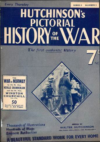 View individual pages of 'Hutchinson's Pictorial History of the War, Series 5 No. 3'