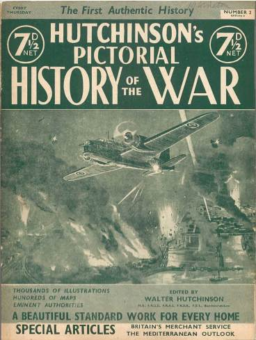 View individual pages of 'Hutchinson's Pictorial History of the War, Series 9 No. 2'