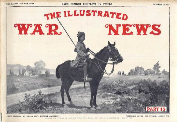 View individual pages of 'The Illustrated War News, Part 13, November 4th 1914'