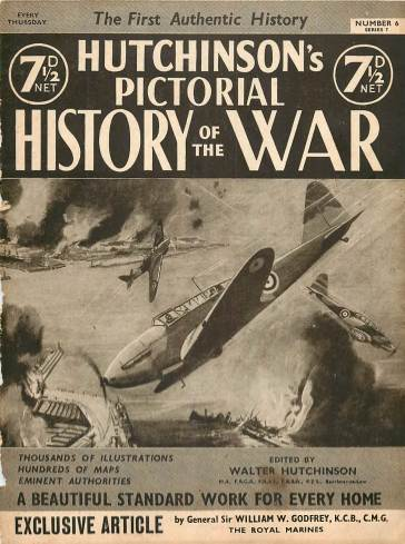 View individual pages of 'Hutchinson's Pictorial History of the War, Series 7 No. 6'