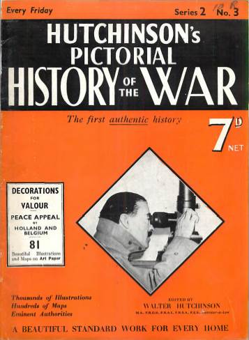 View individual pages of 'Hutchison's Pictorial History of the War, No. 3, Vol. 2'