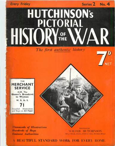 View individual pages of 'Hutchison's Pictorial History of the War, No. 4, Vol. 2'