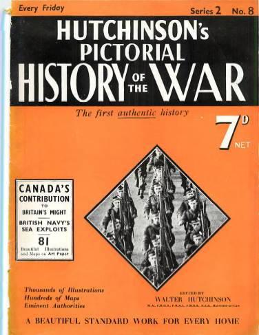 View individual pages of 'Hutchison's Pictorial History of the War, No. 8, Vol. 2'