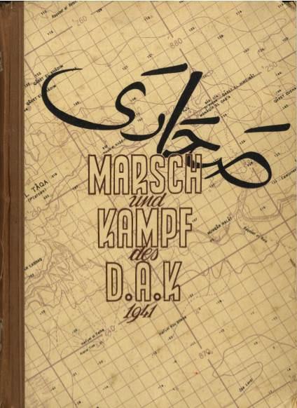View individual pages of 'Marsch und Kampf des D.A.K. 1941'