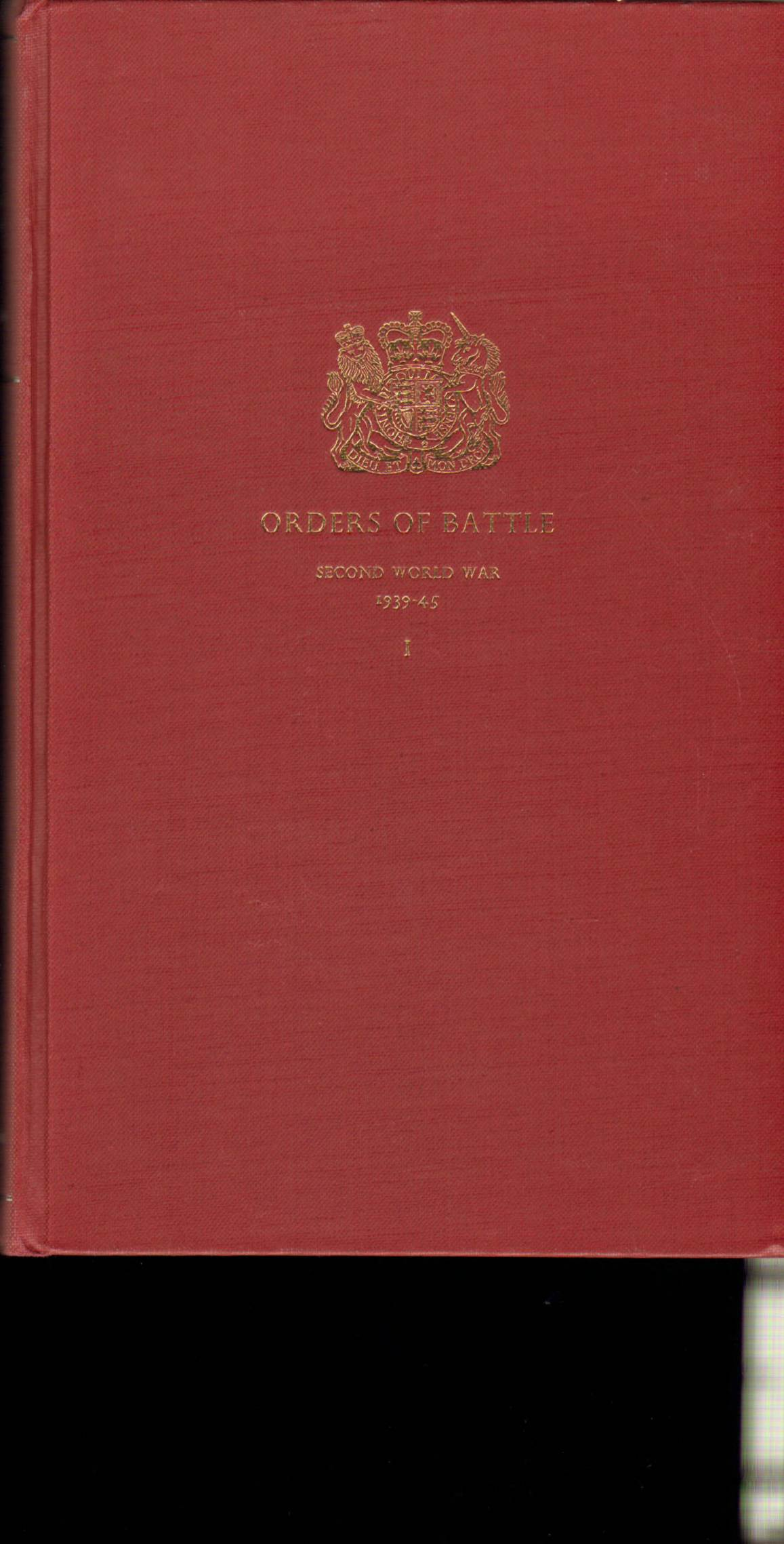 View individual pages of 'Orders of Battle, Second World War, 1939-45, Vol. I'