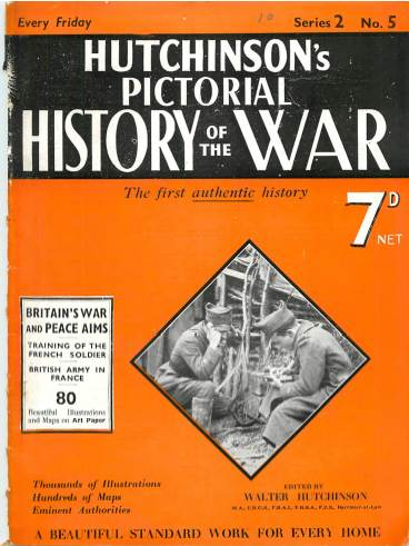 View individual pages of 'Hutchison's Pictorial History of the War, No. 5, Vol. 2'