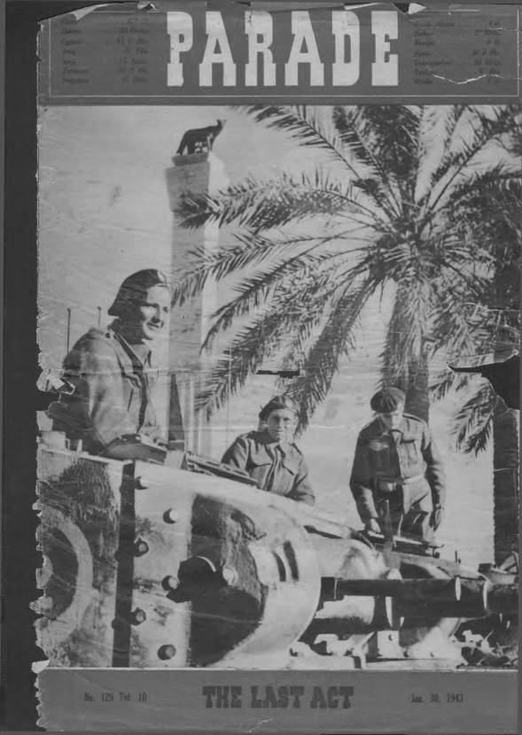 View individual pages of 'Parade  No 129 Vol 10 January 30th 1943'