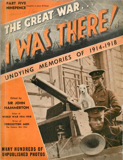 View individual pages of 'The Great War, I was there - Part 5'