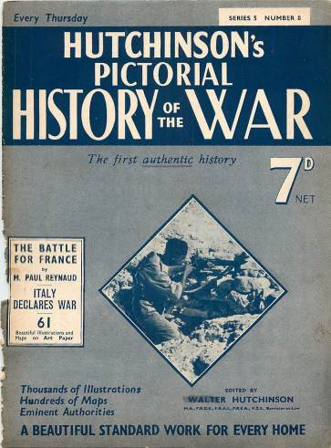 View individual pages of 'Hutchinson's Pictorial History of the War, Series 5 No. 8'