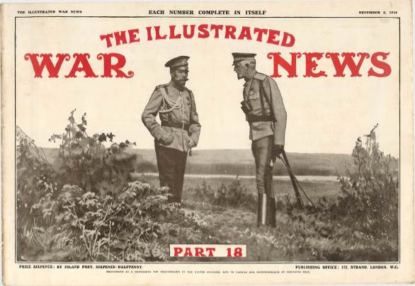 View individual pages of 'The Illustrated War News, Part 18, December 9th 1914'
