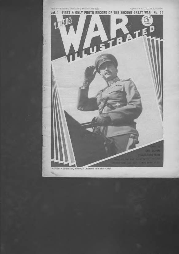 View individual pages of 'The War Illustrated  No 14 Vol 1 December 16th 1939'