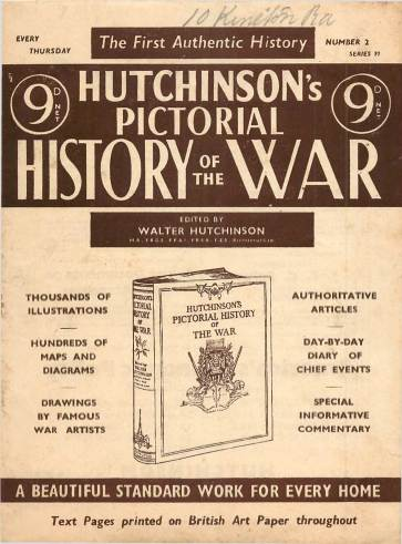 View individual pages of 'Hutchinson's Pictorial History of the War, Series 19 No 2'