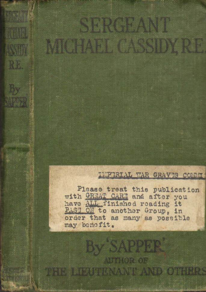 View individual pages of 'Sergeant Michael Cassidy, R.E.'