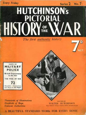 View individual pages of 'Hutchison's Pictorial History of the War, No. 7, Vol. 2'