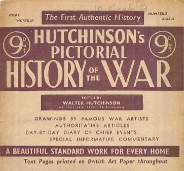 View individual pages of 'Hutchinson's Pictorial History of the War, Series 25 No. 3'