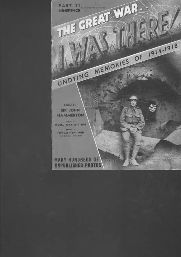 View individual pages of 'The Great War, I was there - Part 31'