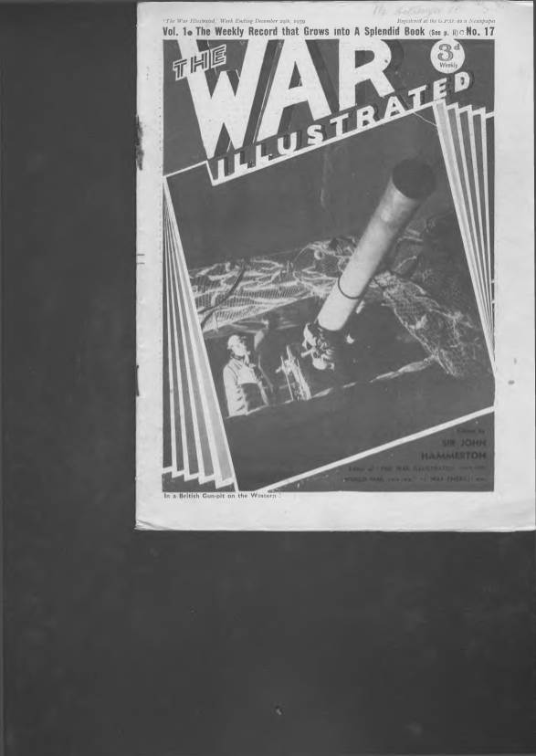 View individual pages of 'The War Illustrated  No 17 Vol 1 December 29th 1939'