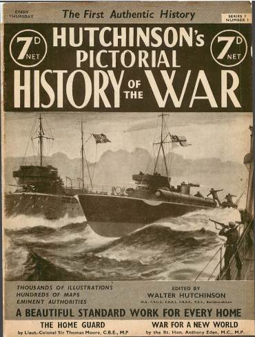 View individual pages of 'Hutchinson's Pictorial History of the War, Series 7 No. 1'