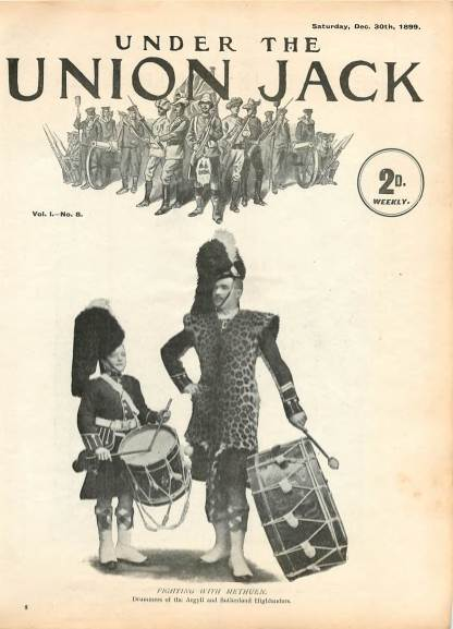 View individual pages of 'Under The Union Jack, No. 8, Vol. 1, December 30th 1899'
