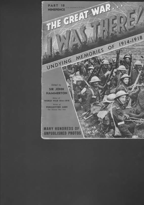 View individual pages of 'The Great War, I was there - Part 18'
