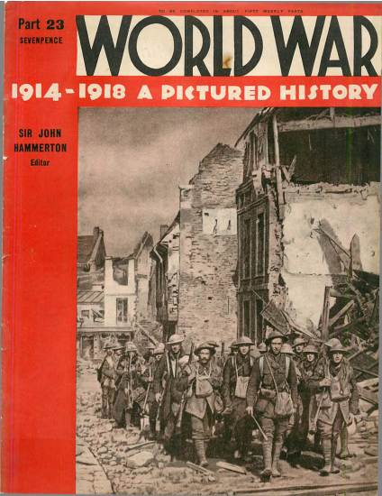 View individual pages of 'World War 1914 - 1918 A Pictured History part 23'