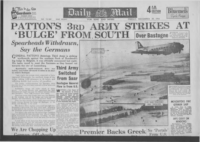 View individual pages of 'Daily Mail December 29th 1944'