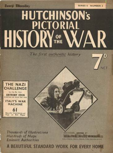 View individual pages of 'Hutchinson's Pictorial History of the War, Series 6 No. 3'