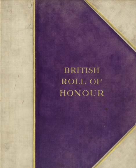 View individual pages of 'British Roll of Honour'