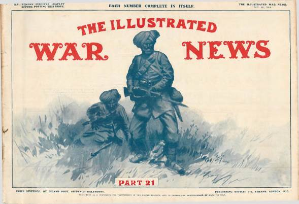 View individual pages of 'The Illustrated War News, Part 21, December 30th 1914'