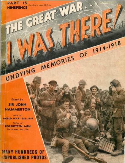 View individual pages of 'The Great War, I was there - Part 15'