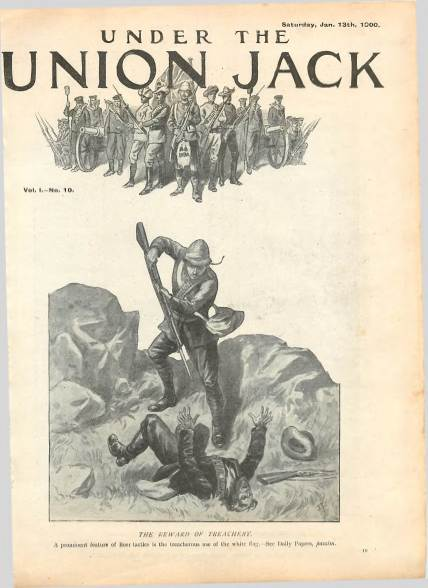 View individual pages of 'Under the Union Jack, No. 10, Vol. 1, January 13th 1900'