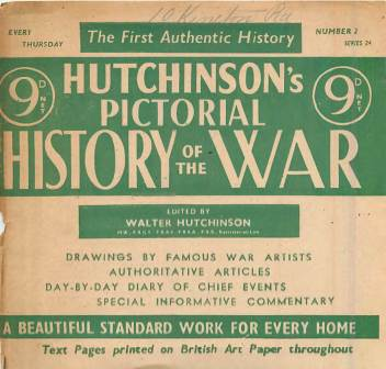 View individual pages of 'Hutchinson's Pictorial History of the War, Series 24 No.2'