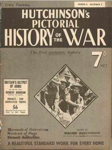 View individual pages of 'Hutchinson's Pictorial History of the War, Series 6 No. 2'