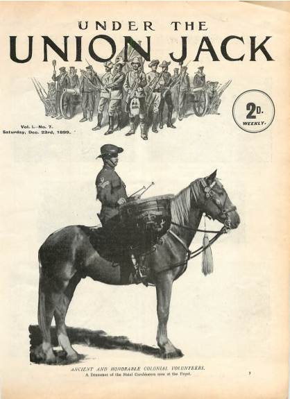 View individual pages of 'Under The Union Jack, No. 7, Vol. 1, December 23rd 1899'