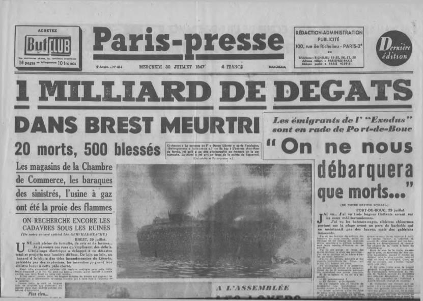 View individual pages of 'Paris-Presse Juillet 30th 1947'