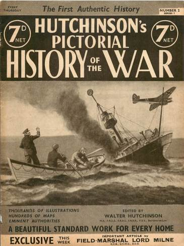 View individual pages of 'Hutchinson's Pictorial History of the War, Series 7 No. 2'