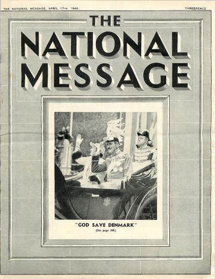 View individual pages of 'The National Message'