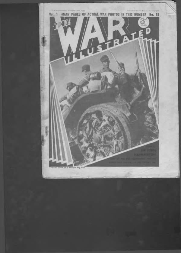 View individual pages of 'The War Illustrated  No 15 Vol 1 December 18th 1939'