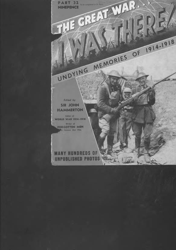 View individual pages of 'The Great War, I was there - Part 32'