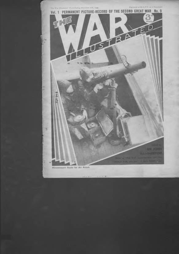 View individual pages of 'The War Illustrated  No 9 Vol 1 November 11th 1939'