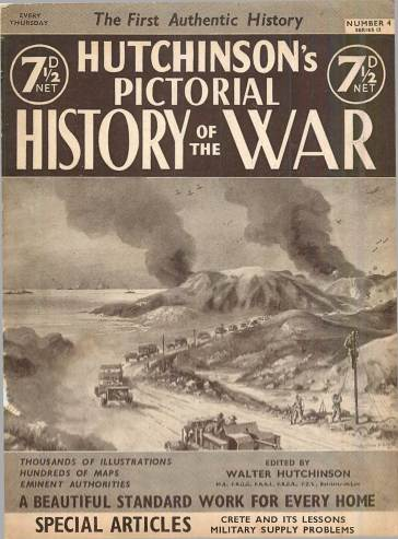 View individual pages of 'Hutchinson's Pictorial History of the War, Series 12 No.4'