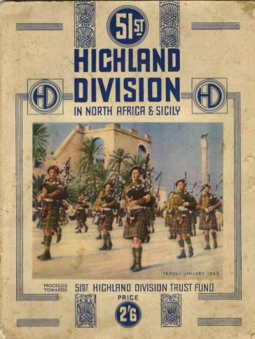 View individual pages of '51st Highland Division In North Africa and Sicily'