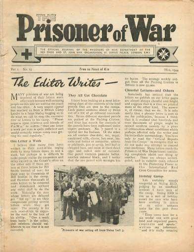 View individual pages of 'The Prisoner of War  No 25 Vol 2 May 1944'