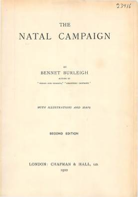 View individual pages of 'The Natal Campaign'