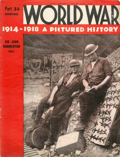 View individual pages of 'World War 1914 - 1918 A Pictured History Part 34'