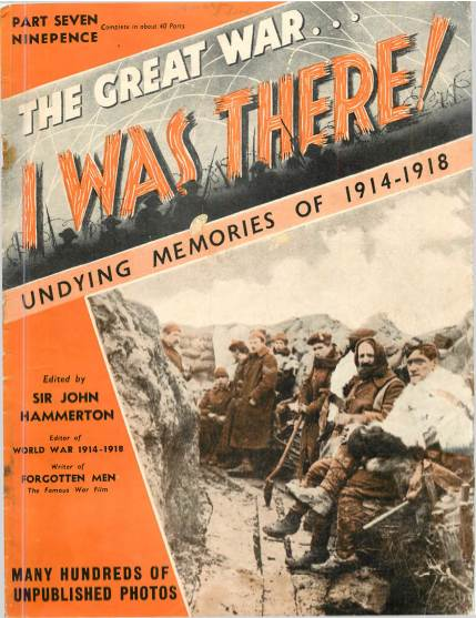 View individual pages of 'The Great War, I was there - Part 7'