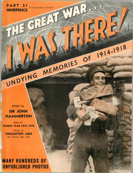 View individual pages of 'The Great War, I was there - Part 21'