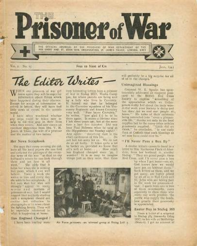 View individual pages of 'The Prisoner of War  No 15 Vol 2 July 1943'
