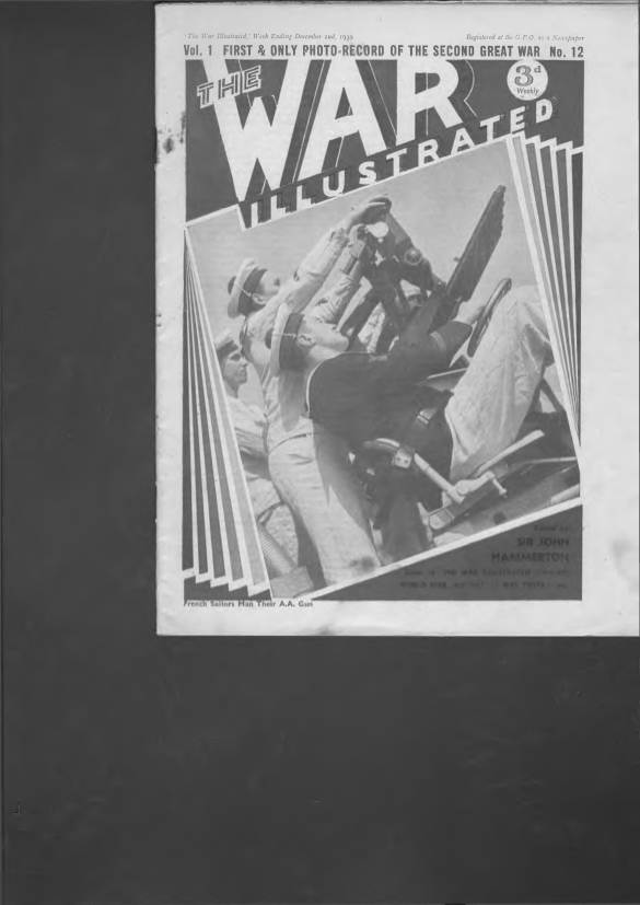 View individual pages of 'The War Illustrated  No 12 Vol 1 December 2nd 1939'